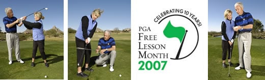 FREE Golf Lessons During May!