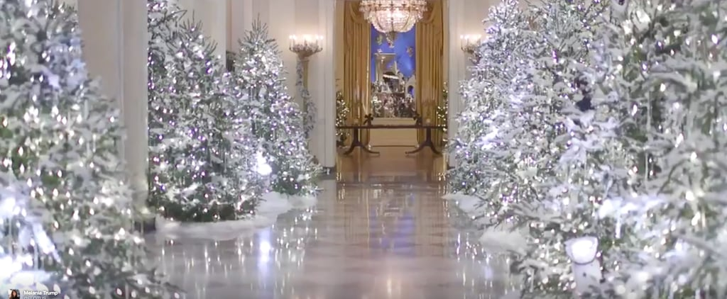 The Trumps Just Decorated the White House For Their First Christmas in Office, and 1 Word: Wow