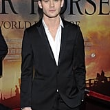 Jeremy Irvine arrived at the Avery Fisher Hall in NYC.