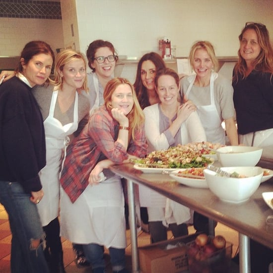 Reese Witherspoon and Drew Barrymore in Napa