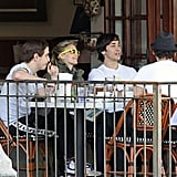 Photos of Drew and Justin