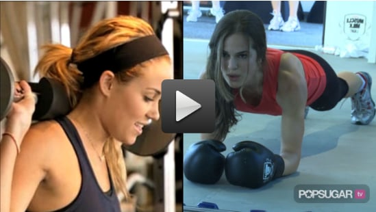 Sugar Shout Out: How to Get a Celebrity Workout at Home