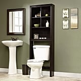 Espresso Over-the-Toilet Etagere