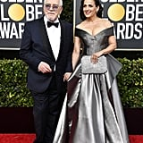 Brian Cox at the Golden Globes