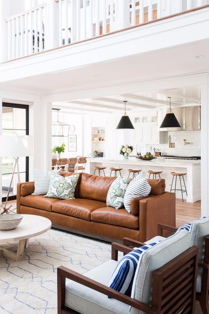 How to Decorate a Living Room | POPSUGAR Home