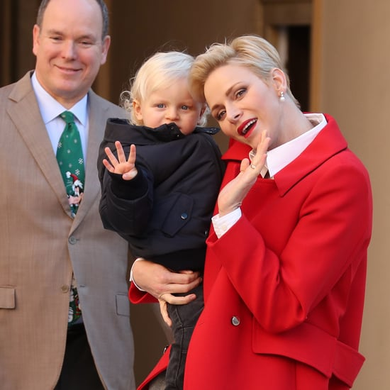 Princess Charlene and Family Christmas Event December 2016