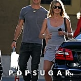 In June, Jennifer Aniston and Justin Theroux were all smiles as they enjoyed sightseeing in Rome together.