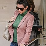 Penelope Cruz ran errands in London.