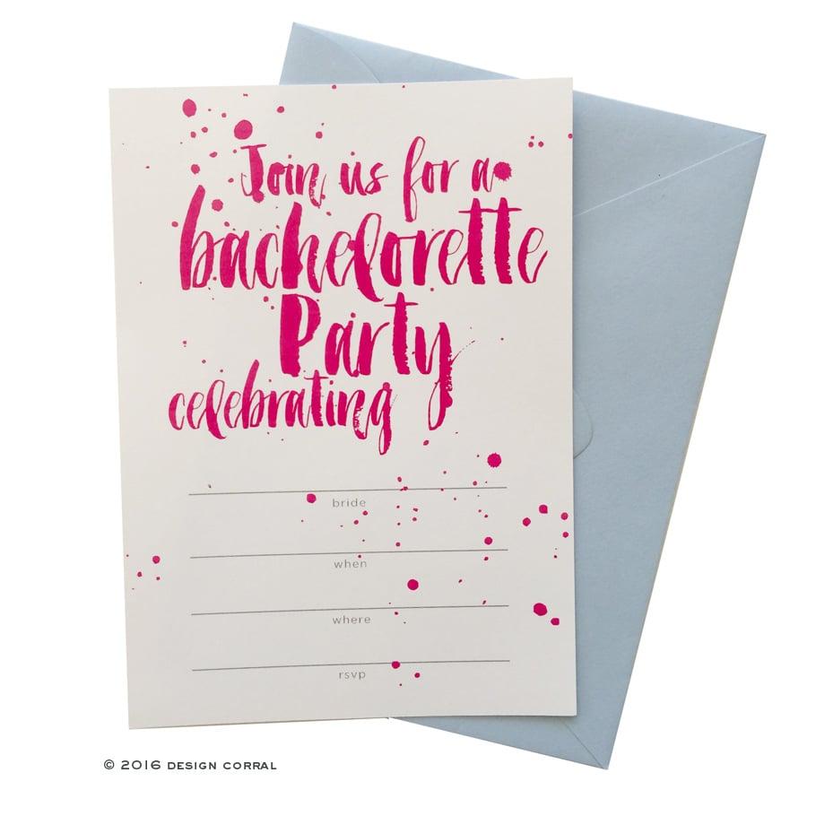 wet paint party invitations free bachelorette party printables