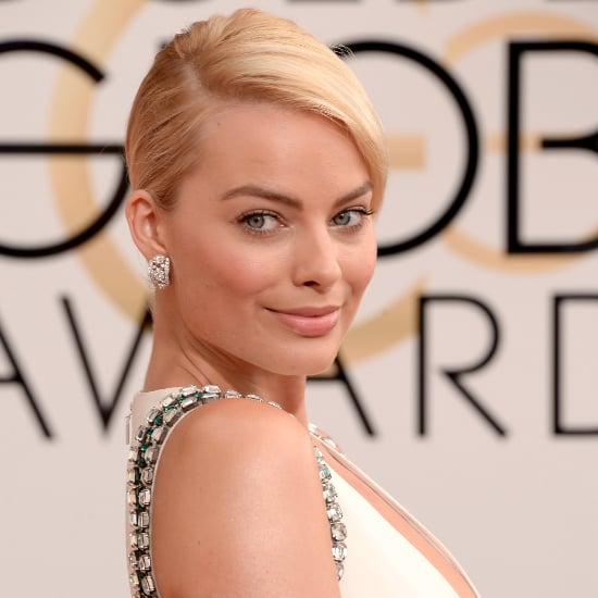 Margot Robbie's Beauty Look at the 2014 Golden Globes