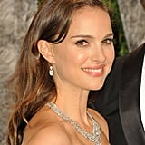 Natalie Portman in Harry Winston diamonds.