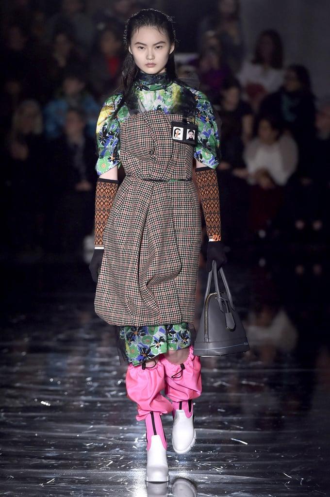 3f6e49a80484 Prada Fall 2018 | Fall 2018 Fashion Trends | POPSUGAR Fashion Photo 28