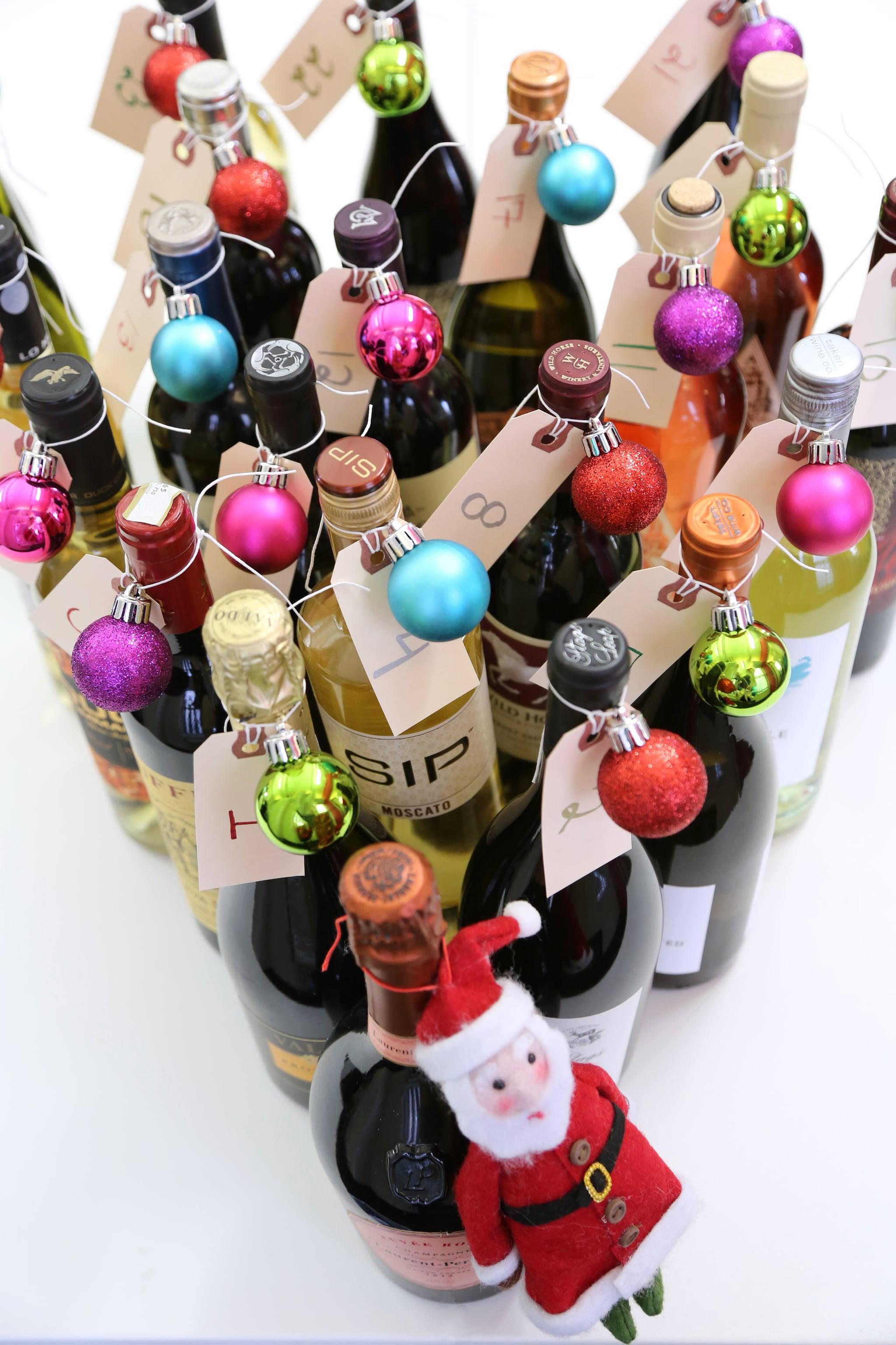 Diy Wine Advent Calendar : Diy wine advent calendar popsugar food