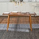 Walker Edison Mid-Century Wood Dining Table
