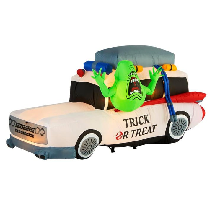 Halloween Decorations Far A Car Ven 2020 Shop the Ghostbusters Inflatable Halloween Decoration   POPSUGAR