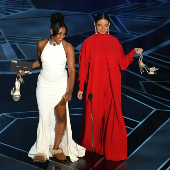 Tiffany Haddish Wearing UGGs at the 2018 Oscars
