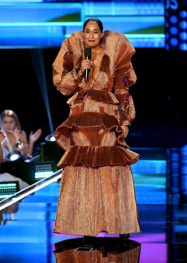 Tracee Opened the Show in This Jaw-Dropping Dress