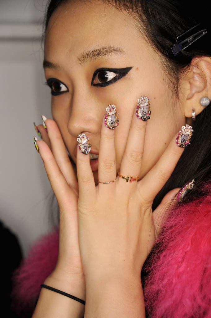 Celebrity Nail Designs Hot Girls Wallpaper