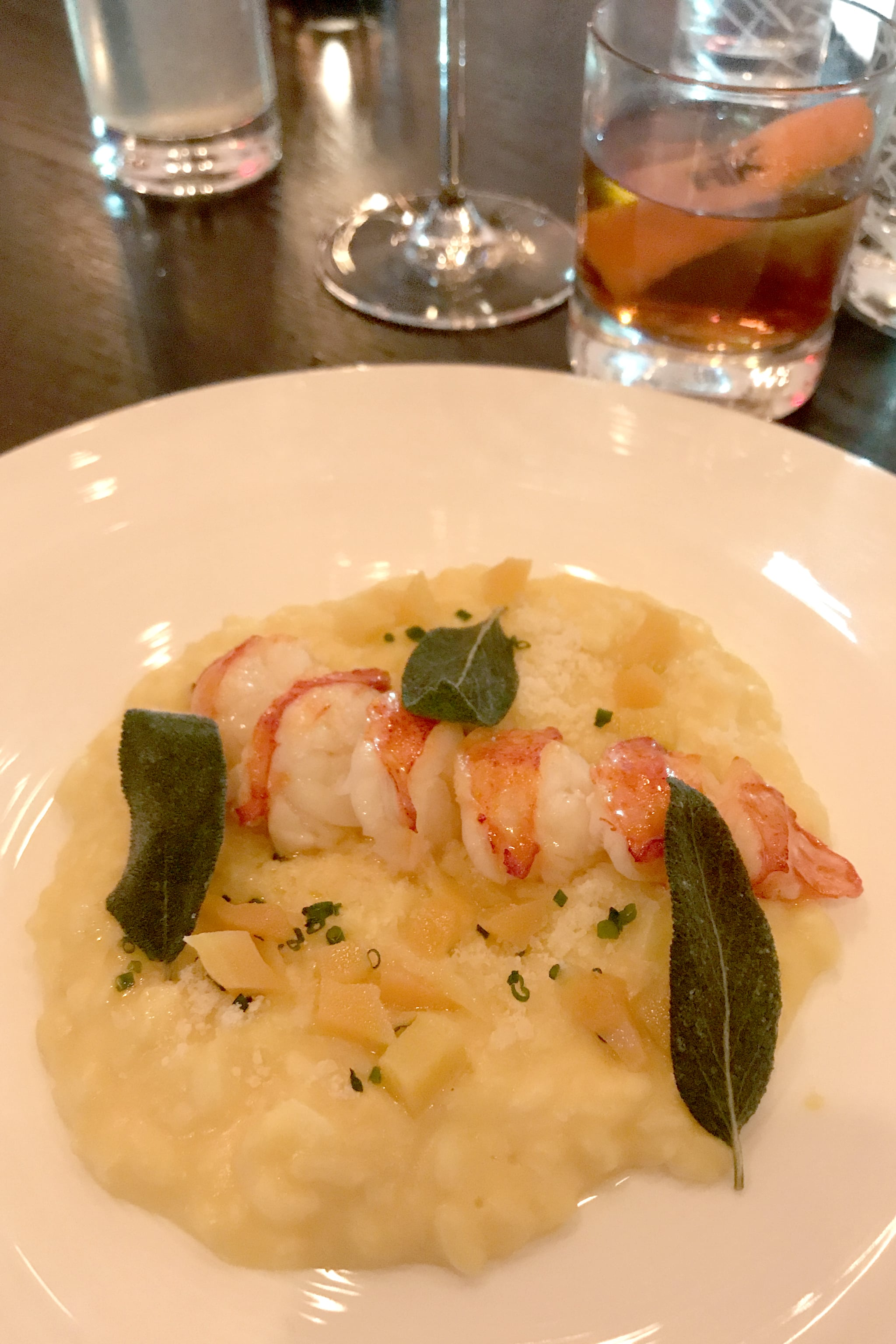 lobster risotto at hells kitchen - Hells Kitchen Menu