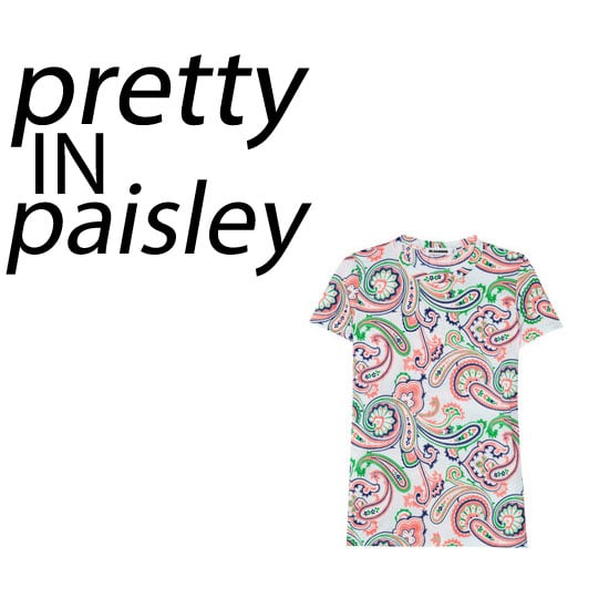 Try Out the Paisley Trend with our Top Five Desk-Bound Buys: Etro, Jil Sander, ASOS, Topshop and more!