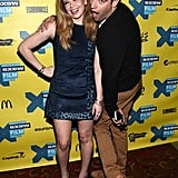 Natasha Lyonne and Max Greenfield played up for the cameras at the premiere of Hello, My Name Is Doris at SXSW.