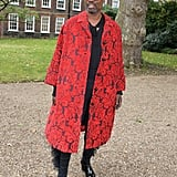 Billy Porter at the Erdem London Fashion Week Show