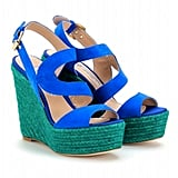 Brian Atwood suede espadrille wedge ($529)