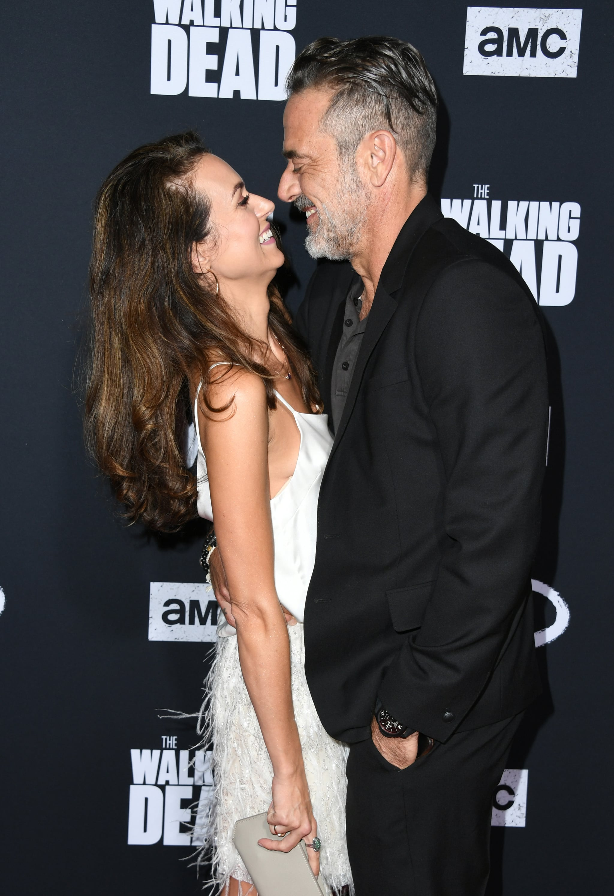 HOLLYWOOD, CALIFORNIA - SEPTEMBER 23:  Hilarie Burton and Jeffrey Dean Morgan attend the Special Screening Of AMC's