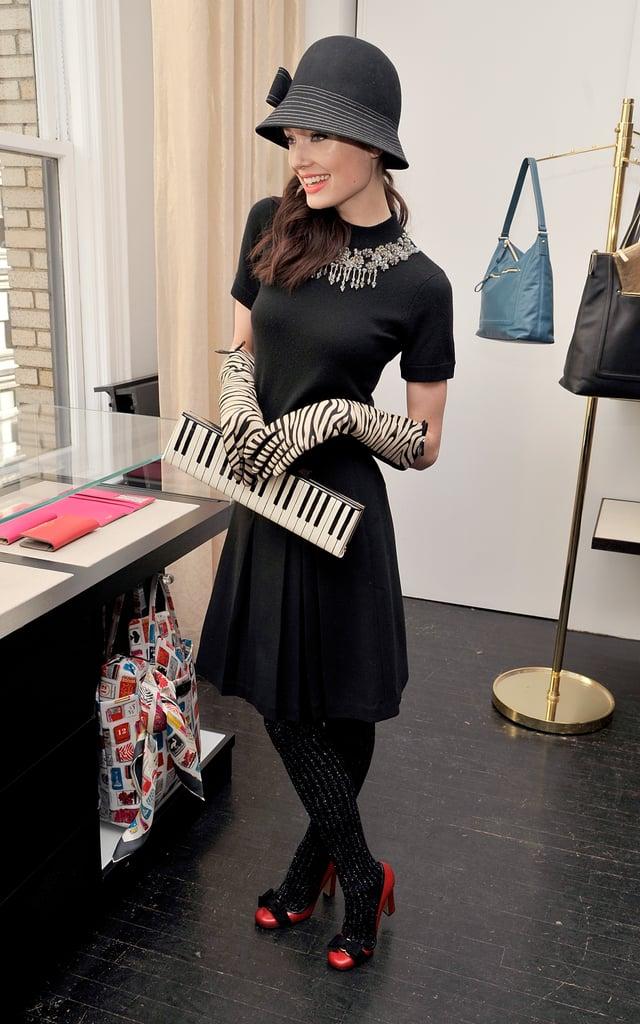 Fall 2011 New York Fashion Week: Kate Spade