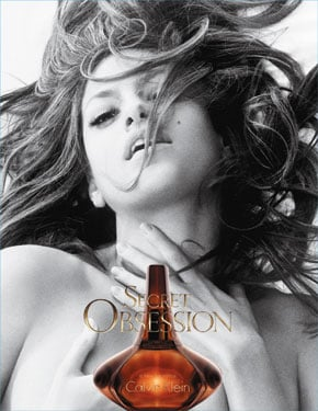 Eva Mendes in Calvin Klein Secret Obsession ad