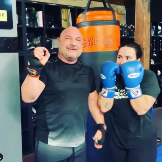 Demi Lovato Punches Out Trainer's Tooth