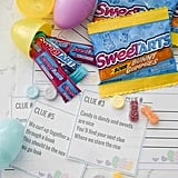 If you're looking to customize some of the clues, this Easter scavenger hunt from Spend With Pennies includes blank clue cards.
