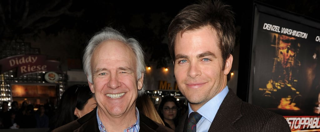 8 Photos of Chris Pine and His Famous Dad That Prove the Apple Doesn't Fall Far From the Tree