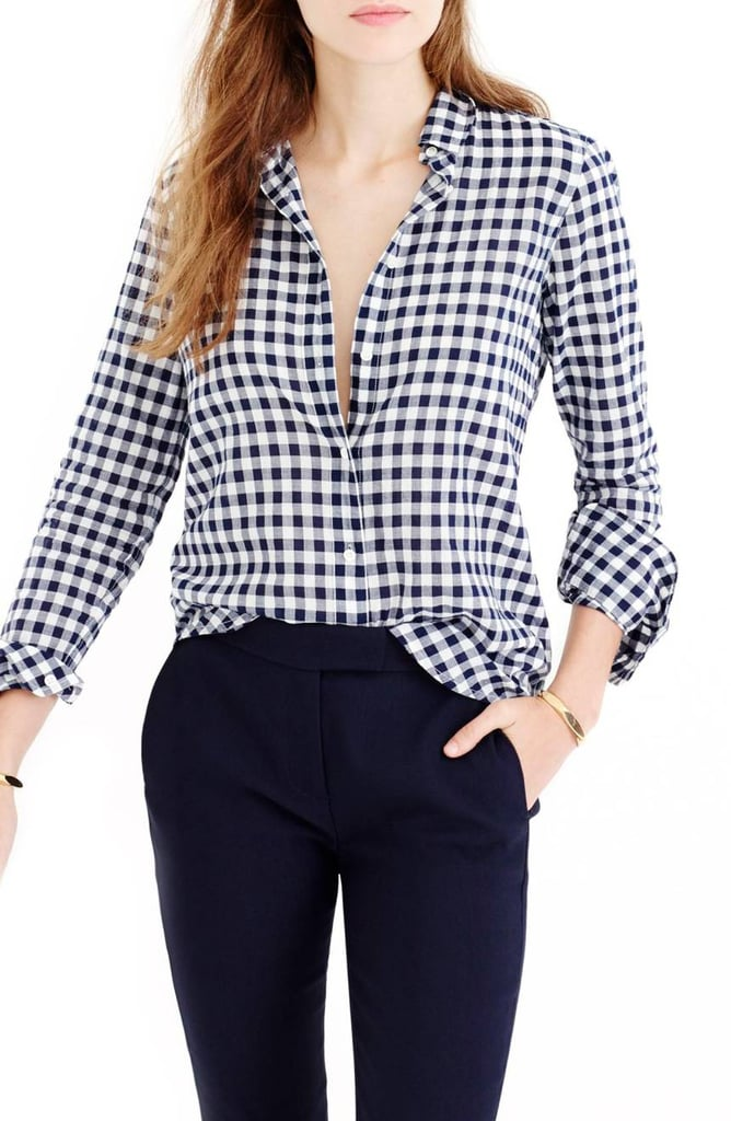 J.Crew Gingham Boy Shirt