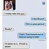 Pitbull > Bruno Mars