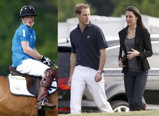 11/5/2009 Prince William, Kate Middleton, Prince Harry at Polo