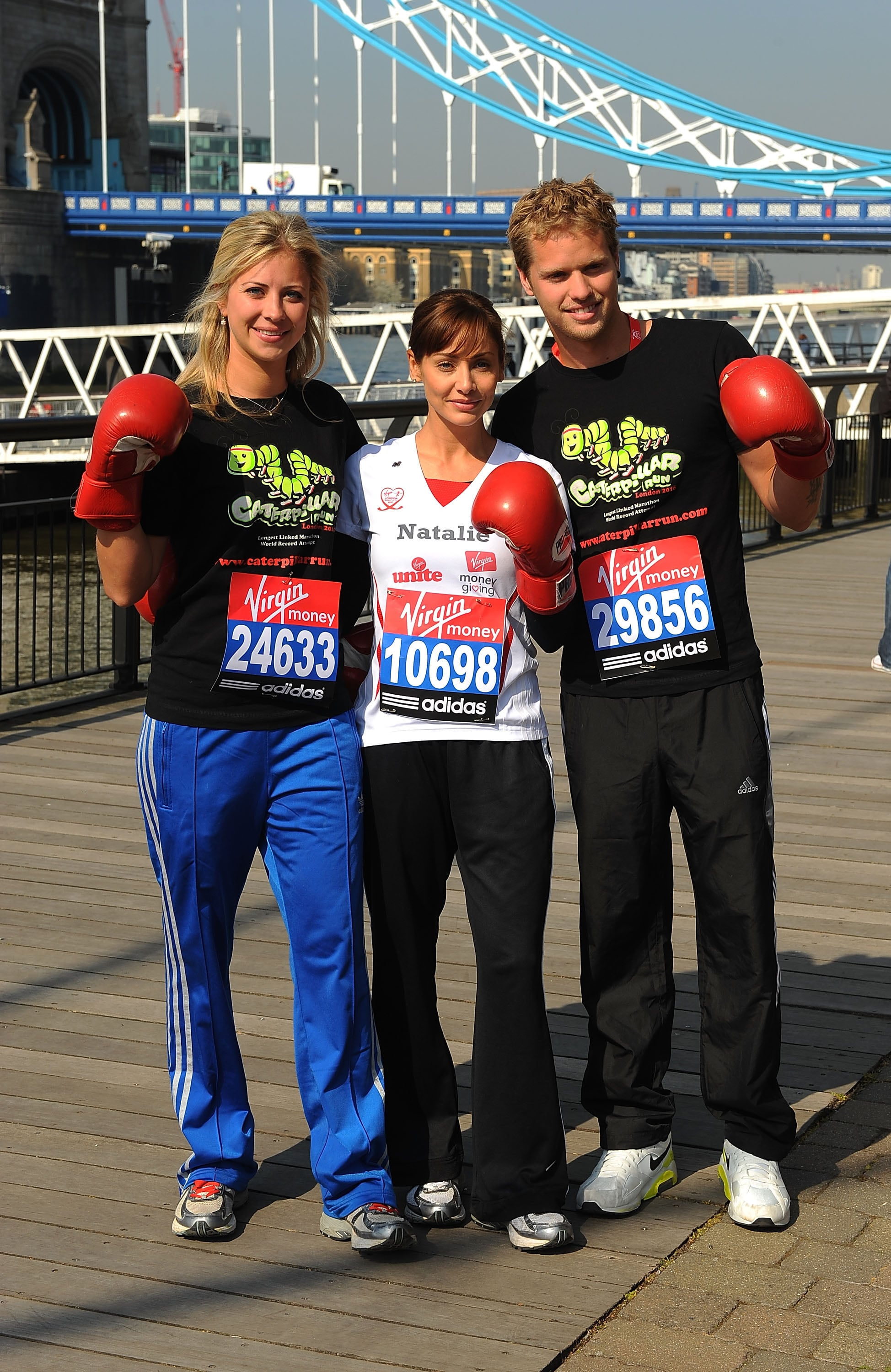 Alternatives to London Marathon - Lunges and Lycra