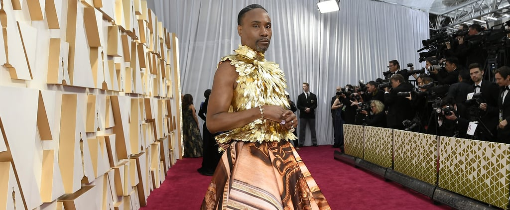 Billy Porter's Giles Deacon Dress and at the Oscars 2020