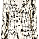 Chanel Pre-Owned 1990's Checked Tweed Jacket