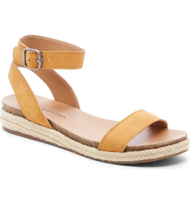 3bc10fb614d Lucky Brand Garston Espadrille Sandals