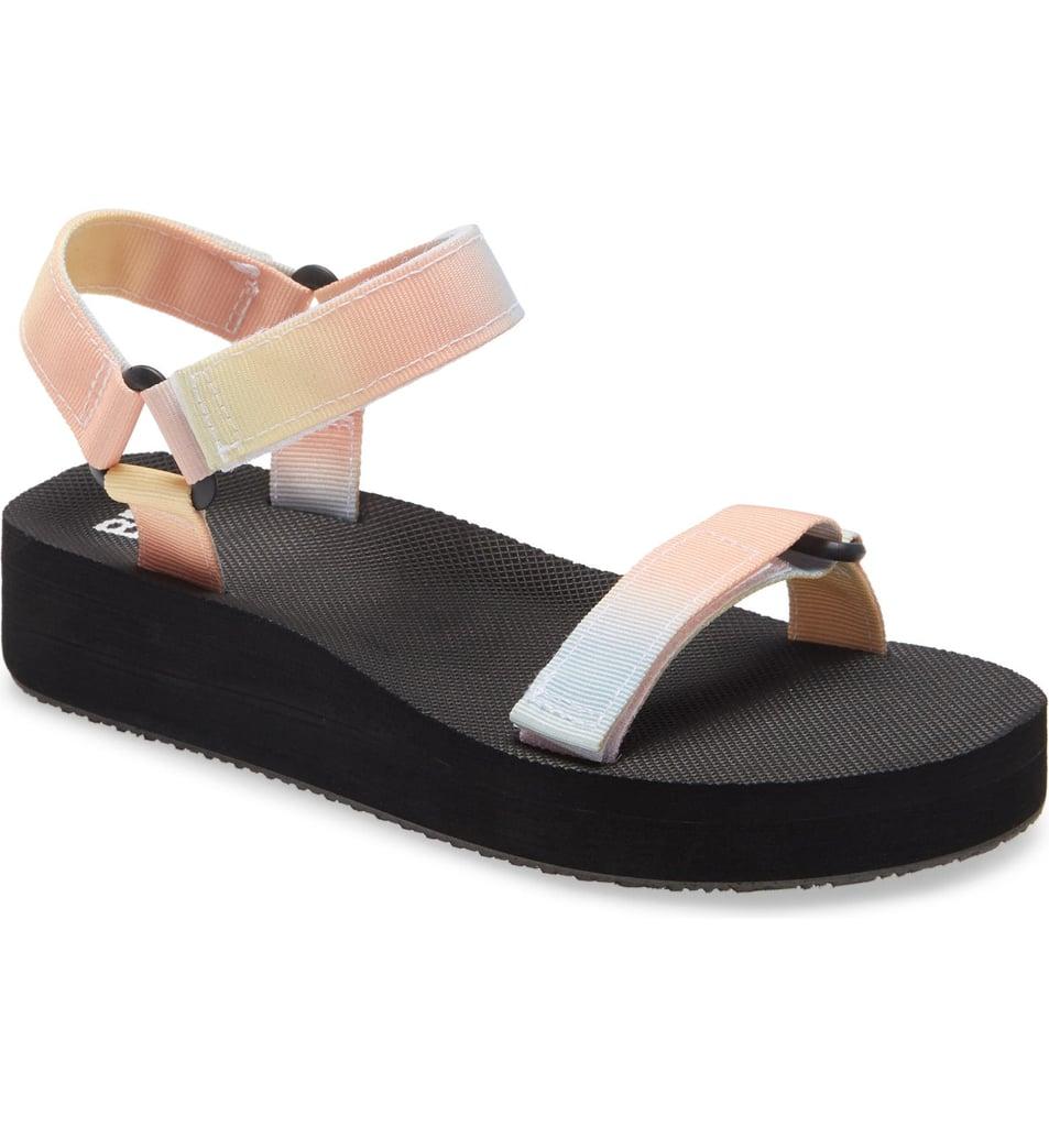 BP. Skye Sport Slingback Platform Sandal