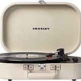 Crosley Vintage Bluetooth 3-Speed Belt-Driven Suitcase Turntable