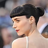 Rooney Mara Close Up on the Oscars Red Carpet