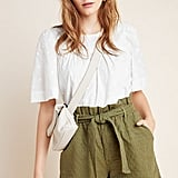 Amadi Rhys Textured Paperbag Shorts