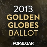 2013 Golden Globe Awards Ballot