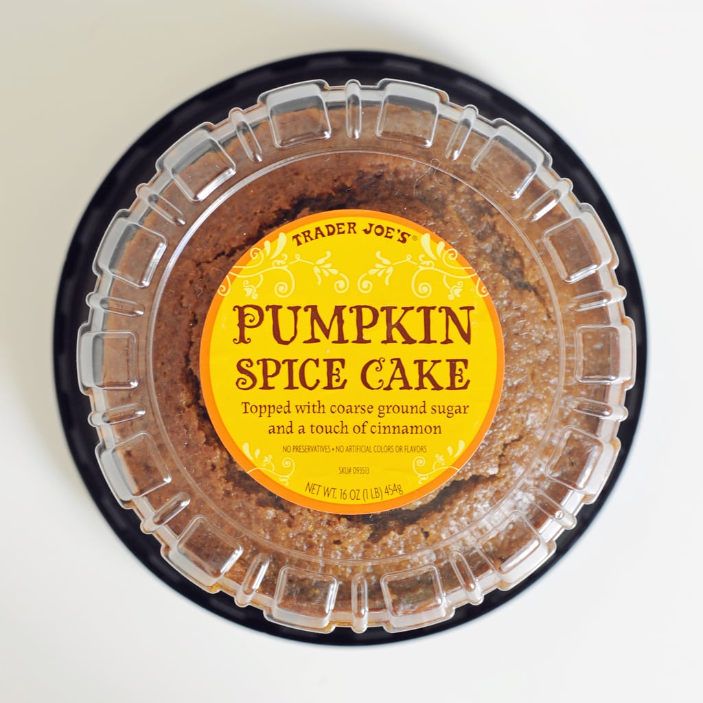 Trader Joe's Pumpkin Spice Cake