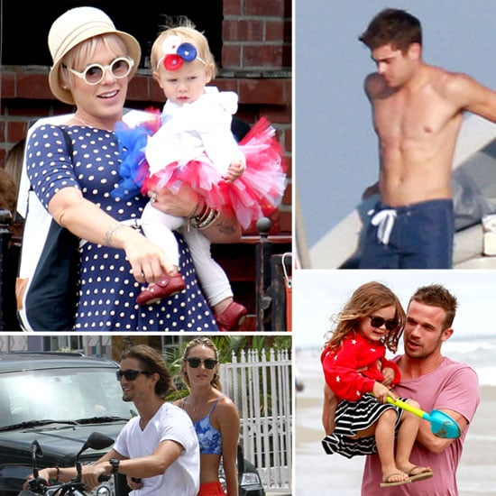 See How Stars Celebrated Fourth of July!