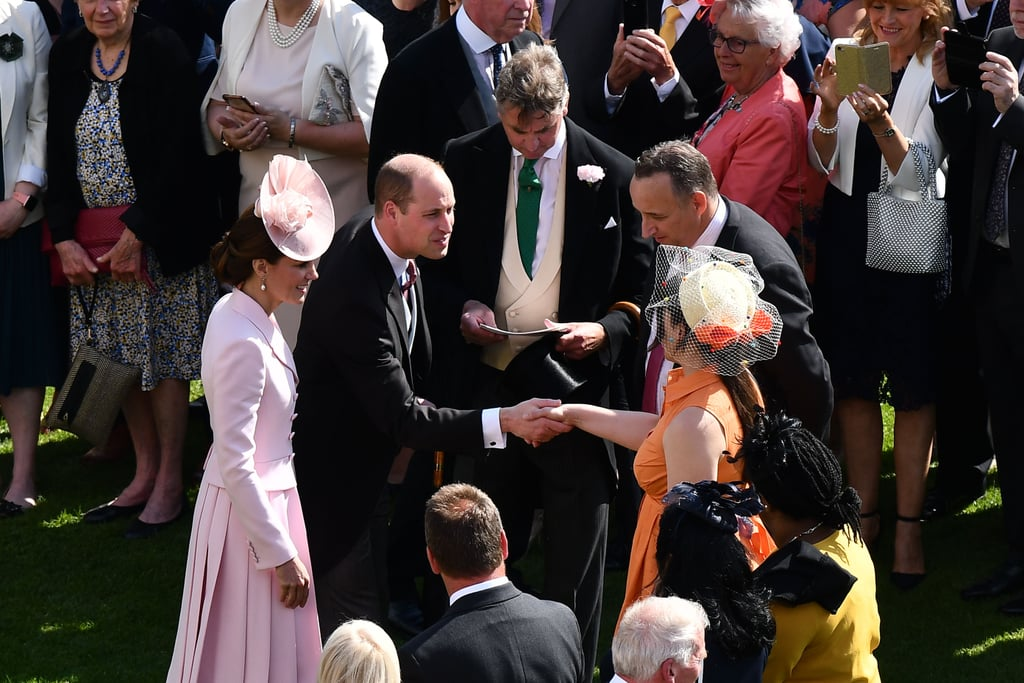 Kate Middleton and Prince William Palace Garden Party 2019