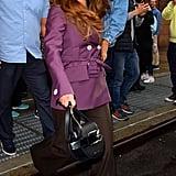Selena Gomez Wearing Prada in NYC