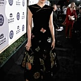 Camilla Belle looked lovely in Schiaparelli at the Art of Elysium gala.